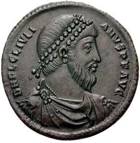 Roman Coin wiht Julian (360 to 363)