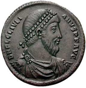 Roman Coin wiht Julian (360 to 363)
